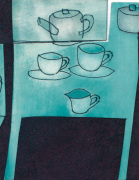 Tea Cups by Rosie Scott