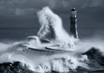 Roker Lighthouse Blue I