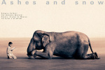 Boy Reading to Elephant by Gregory Colbert