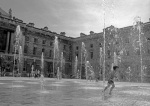 Racing fountains, Somerset House by Niki Gorick