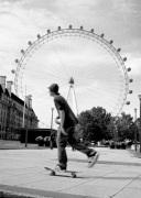 London Eye skater