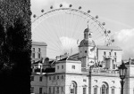 London Eye over Horse Guards Parade by Niki Gorick