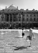 Dancing fountains, Somerset House by Niki Gorick