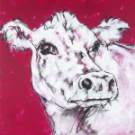 Cow on Red