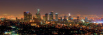 Los Angeles Skyline at Night by Andy Z
