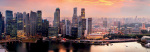 Singapore Sunset by Joyfull
