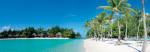 Beach on Bora Bora Island, French Polynesia by BlueOrange Studio