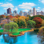 Central Park in Autumn Manhattan