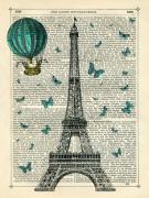 Eiffel Butterflies