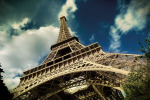 The Eiffel Tower (horizontal) by Verlijsdonk