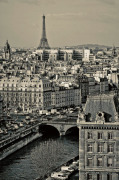 Paris Rooftops by Sabri Irmak