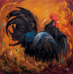 Rooster #501 by Roz