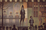 Circus Sideshow by Georges Seurat