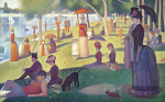 Sunday Afternoon on the Island of Grand Jatte 1864-66 by Georges Seurat