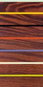 Woodgrain & Stripe by Dan Bleier