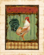Rooster Portraits I by Daphne Brissonnet