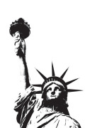 Statue of Liberty (outline)