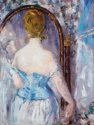 Before the Mirror by Edouard Manet