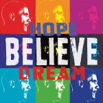 Barack Obama: Hope, Believe, Dream by Celebrity Photo