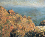 Fishermans lodge at Varengeville by Claude Monet