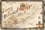 Greetings from Long Island by Vintage Vacation