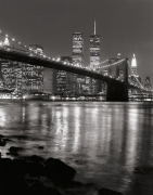 Brooklyn Bridge with World Trade Center