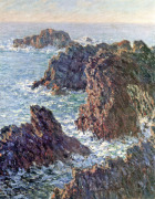 Rock Points at Belle-Ile 1886