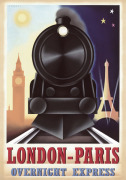 London-Paris Overnight Express by Steve Forney