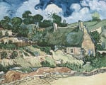 Shelters in Cordeville by Vincent Van Gogh