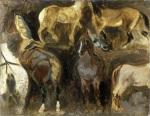 Study of Horses c.1822-1824