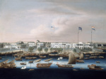The Waterfront at Canton with the American British and French Factories