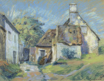Chaumieres, c.1905 by Jean-Baptiste-Armand Guillaumin