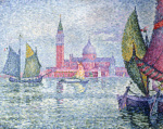 Venise, Saint-Georges by Paul Signac