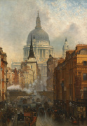 Ludgate - Evening 1887