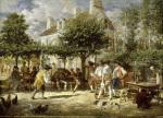 Sunday in Poissy 1850
