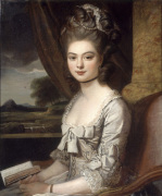 Portrait of Miss Hill