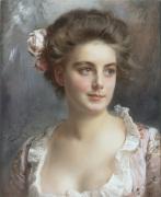 Portrait d'une Elegante