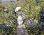 The Garden Path, c.1910 by Frederick Carl Frieseke