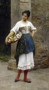 Venetian Flower Seller 1895