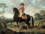 Equestrian portrait of a gentleman (possibly Marie Joseph Paul Yves Roch Gilbert du Motier Marquis de la Fayette)