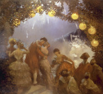 L'Intrigue Nocturne by Gaston La Touche