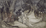 The Meeting of Oberon and Titania 1908 (Shakespeare)