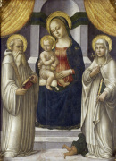 The Madonna with St Benedict and St Margaret of Antioch