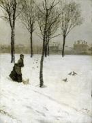 A Winter's Promenade 1875