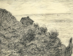 La Cabane de Douaniers pres de Pourville 1890