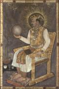 Jahangir Holding a Globe Mandu 1617