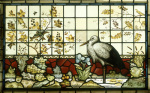 A Stained Glass Panel (One Of a Pair)