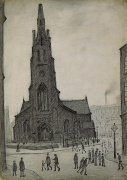 Street Scene (St Simon's Church) 1927
