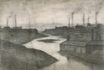 The River Irwell At The Adelphi 1924