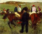 Les Chevaux de Courses c.1871-72